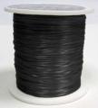 Elastiktråd, sort 0,8 mm, 60 mtr