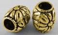Tibetanske sølv perler guld farve