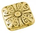 Tibetanske sølv perler Gold 10 stk