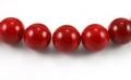 Mashan jade rød 18 mm