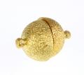 Magnet lås guld farve 14 mm