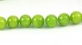 Mashan jade Æblegrøn 12 mm