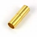 Magnet lås Guld farve 4 mm hul