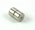 Magnet lås Platin farvet 8 x 6 mm