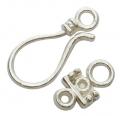 Smykkelås antique sølv 10 sæt